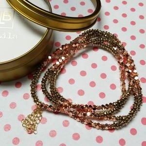 Stackable bracelet/neckalce